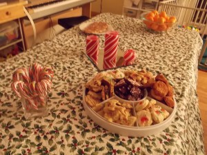Festive Table.